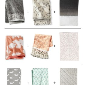 No More Boring Bath Linen Combinations