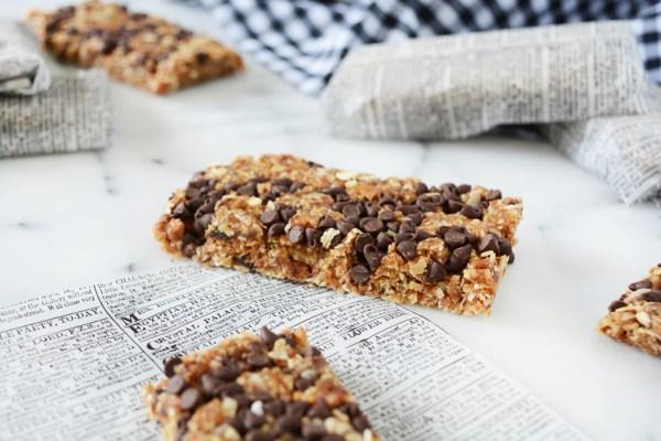 _chocolate coconut granola bars 4