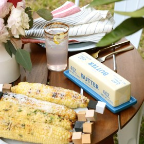 Coconut Curry Grilled Corn on the Cob