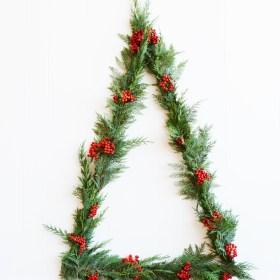 Modern Triangle Wall Christmas Tree