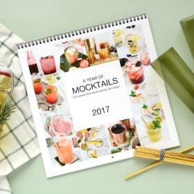 Mocktail Recipe Calendar