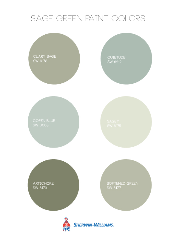 Sage Green Paint Colors