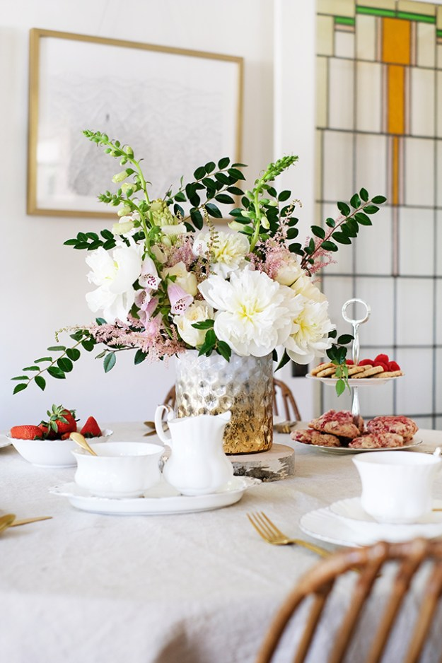 Royal Wedding Inspired Floral Centerpiece
