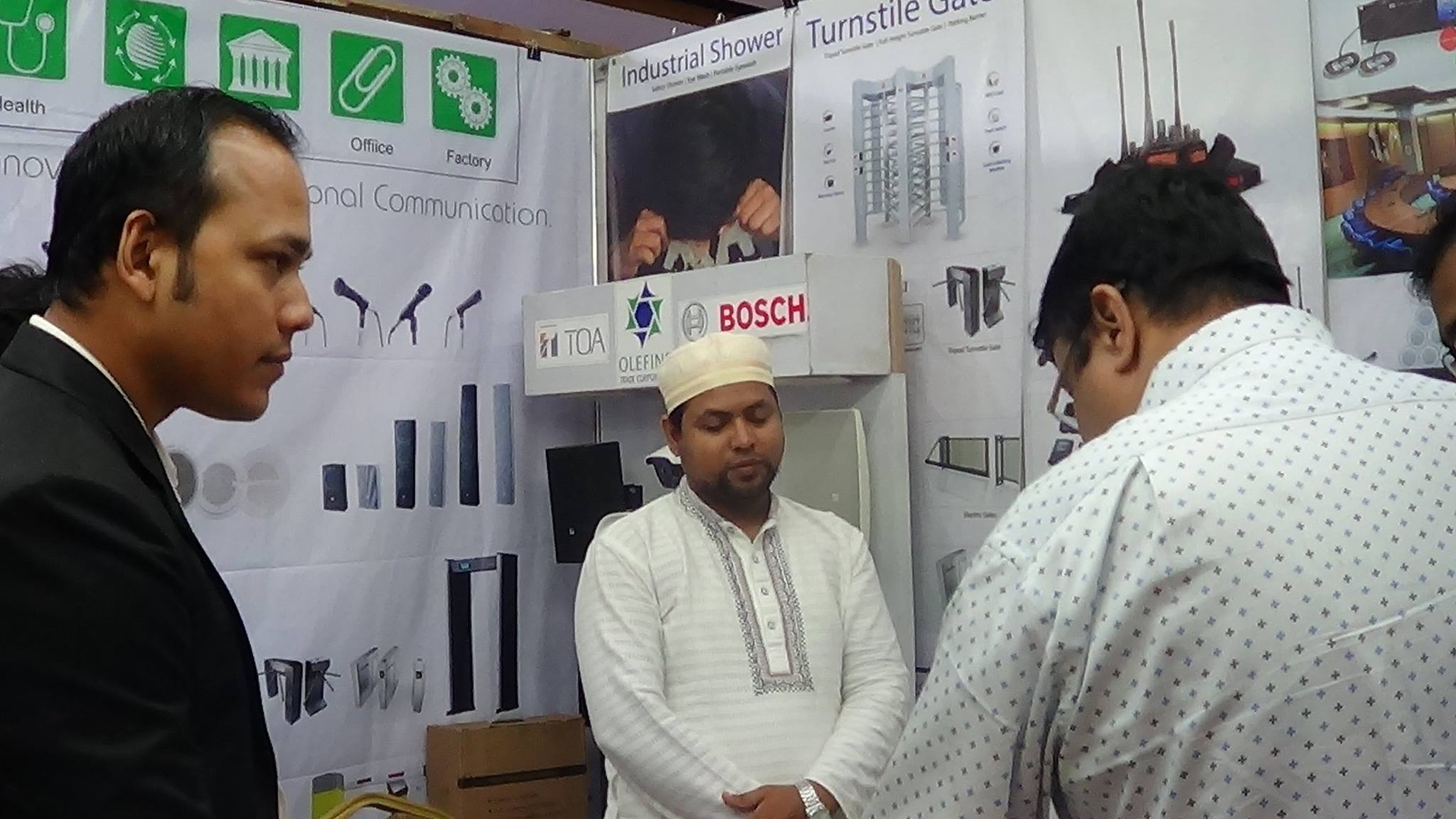 SAFECON 2017 - Exhibition in Bangladesh