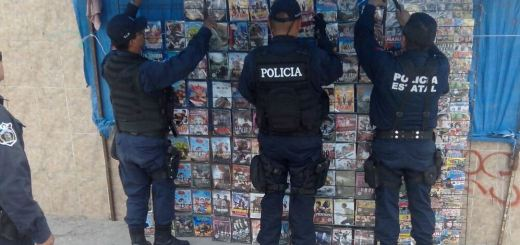 Aseguran más de cinco mil discos falsificados en El Rosario