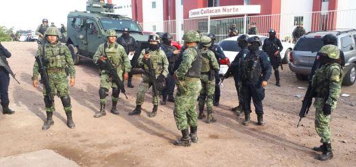 Presumen varios detenidos durante operativo