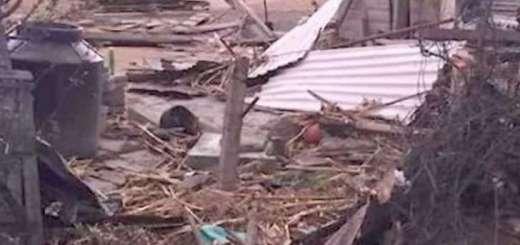 Tornado deja daños en 50 viviendas de Edomex