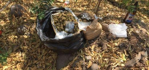 40 Kilogramos de marihuana encontrados en Valle Alto son asegurados