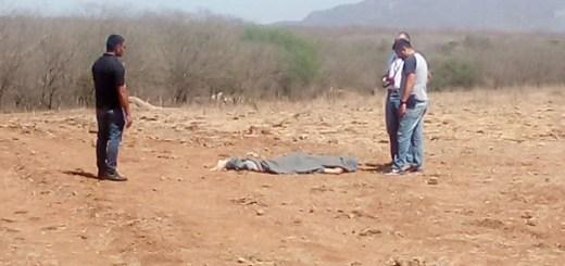 Localizan el cuerpo ejecutado de una persona en Imala