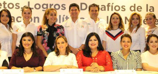 México debe continuar por la ruta del desarrollo y el bienestar de las familias asegura Rosa Elena Millán