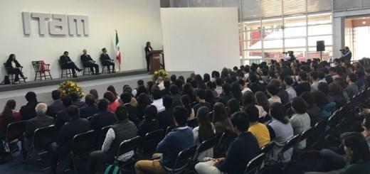 Margarita Zavala pide su voto a alumnos del ITAM