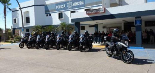 Motopatrullas son entregadas a Vialidad y Tránsito Municipal de Ahome