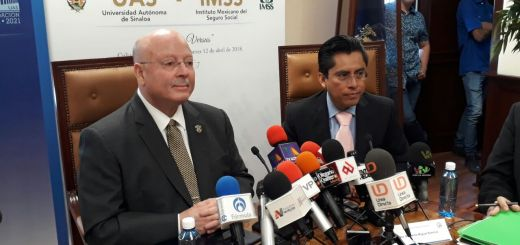 UAS e IMSS firman convenio para garantizar atencion médica a universitarios