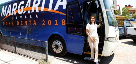 Verificado 2018: ¿Es cierto que, como aseguró, Margarita Zavala no tiene spots?