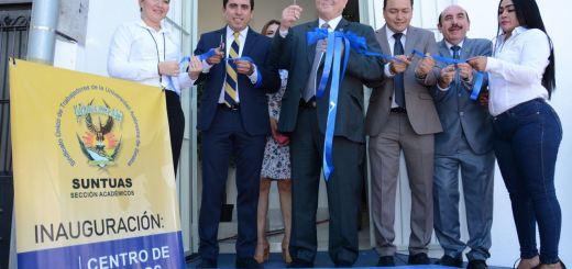 Inaugura el Rector el Centro de Estudios Sindicales