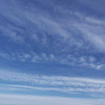 Небо, на закате, фото
