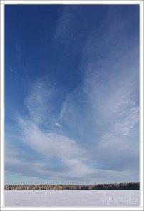 Небо, снег, солнце, фото, Олег Чувакин, 07