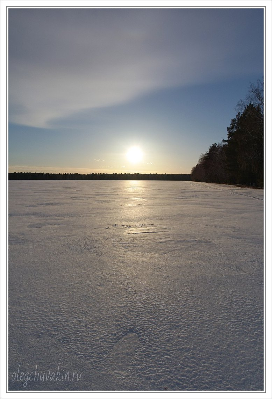 Небо, снег, солнце, фото, Олег Чувакин, 10