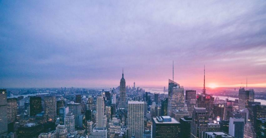 Манхэттен, фото, закат, Соломея Лютова, рассказ, дом, крыша, снегири