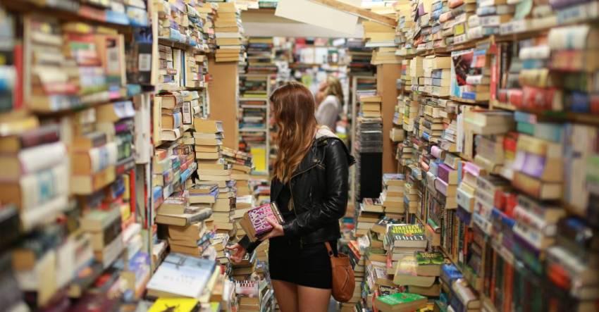 Девушка, книги, фото, иллюстрация, рассказ