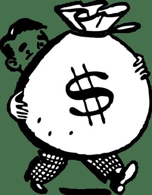 Мешок, доллары, деньги, Австралия, австралийцы, удача, везение, наследство, дядюшка богатый