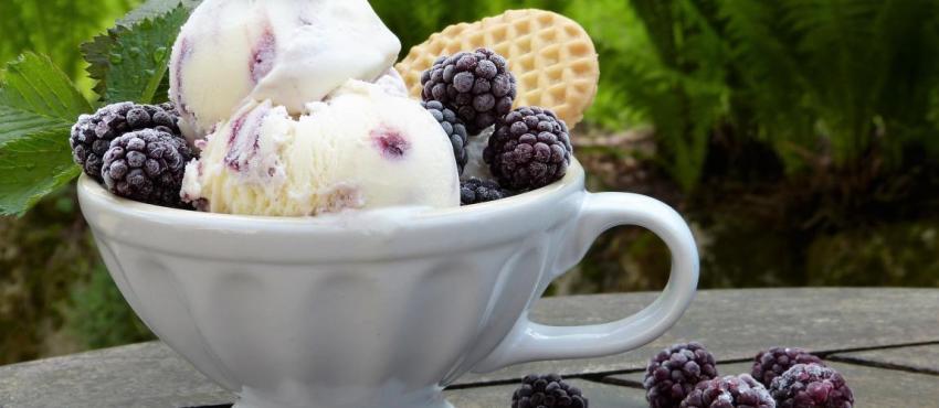 Завтрак, мороженое, фото