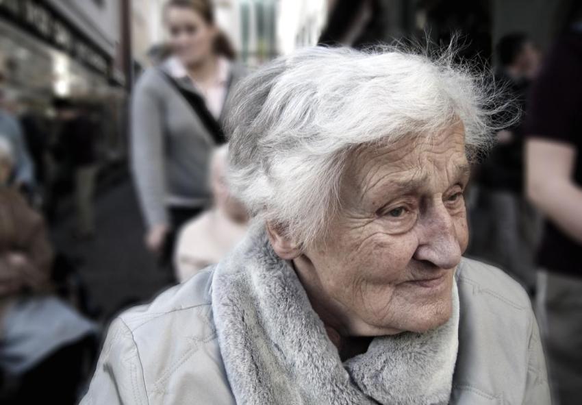 Бабушка, история любви, 1941 год