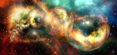 Параллельные миры, параллельные вселенные, Земля, Солнце, кольца, Мультивселенная, Мультиверс