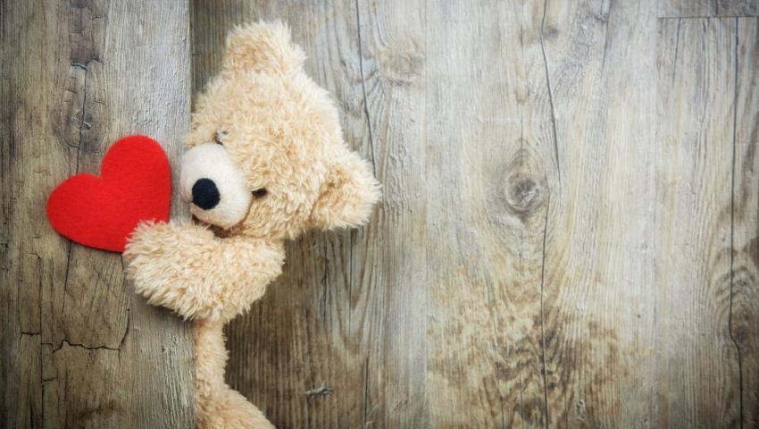 Мишка-игрушка, сердце, дверь, прошлое, будущее