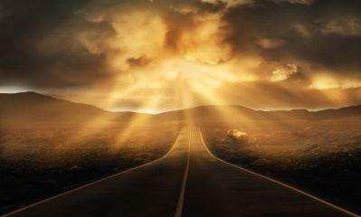 Путь, свет, вспышка, озарение, вдохновение, писатель, дорога, писательский метод, подход