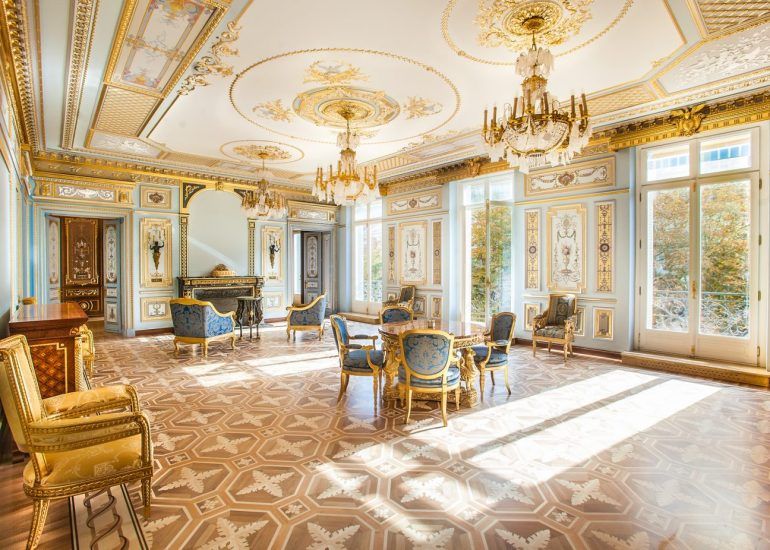 Shooting immobilier de luxe appartement de luxea Paris