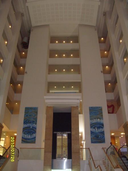 Вид отеля внутри
