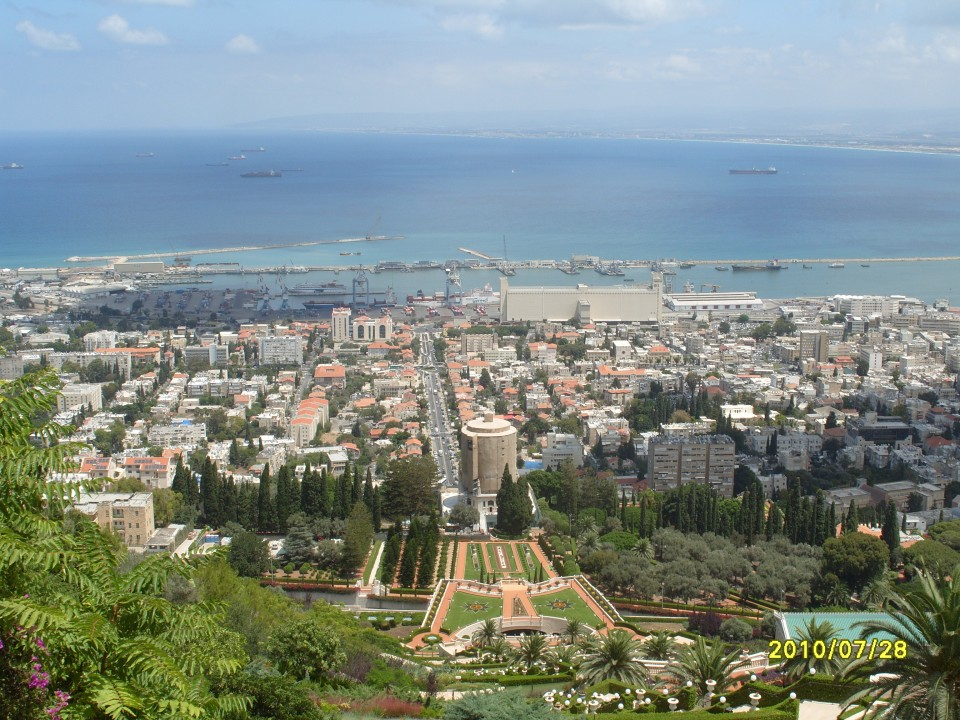 Панорама Хайфы