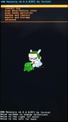 Cyanogen recovery инструкция