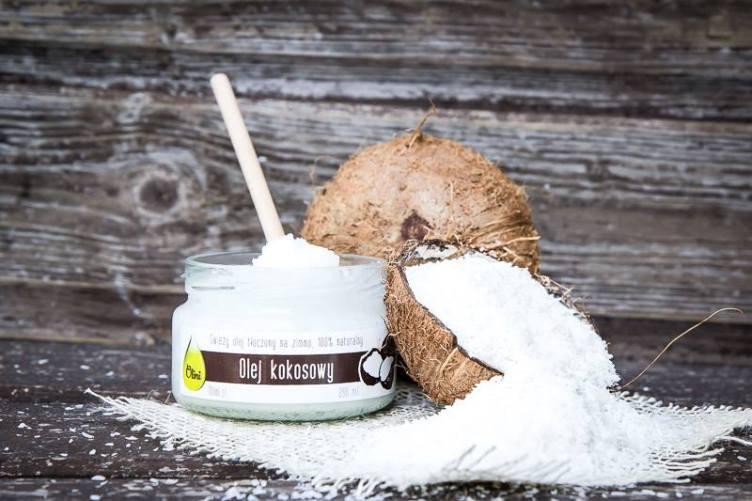 Olej kokosowy Olini tłoczony na zimno, nierafinowany