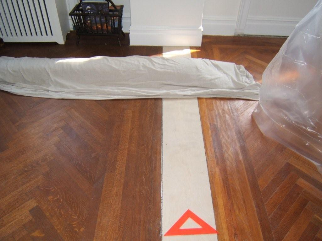 Wood Flooring Refinishing and Repair Restore or replicate to match existing ornamental borders