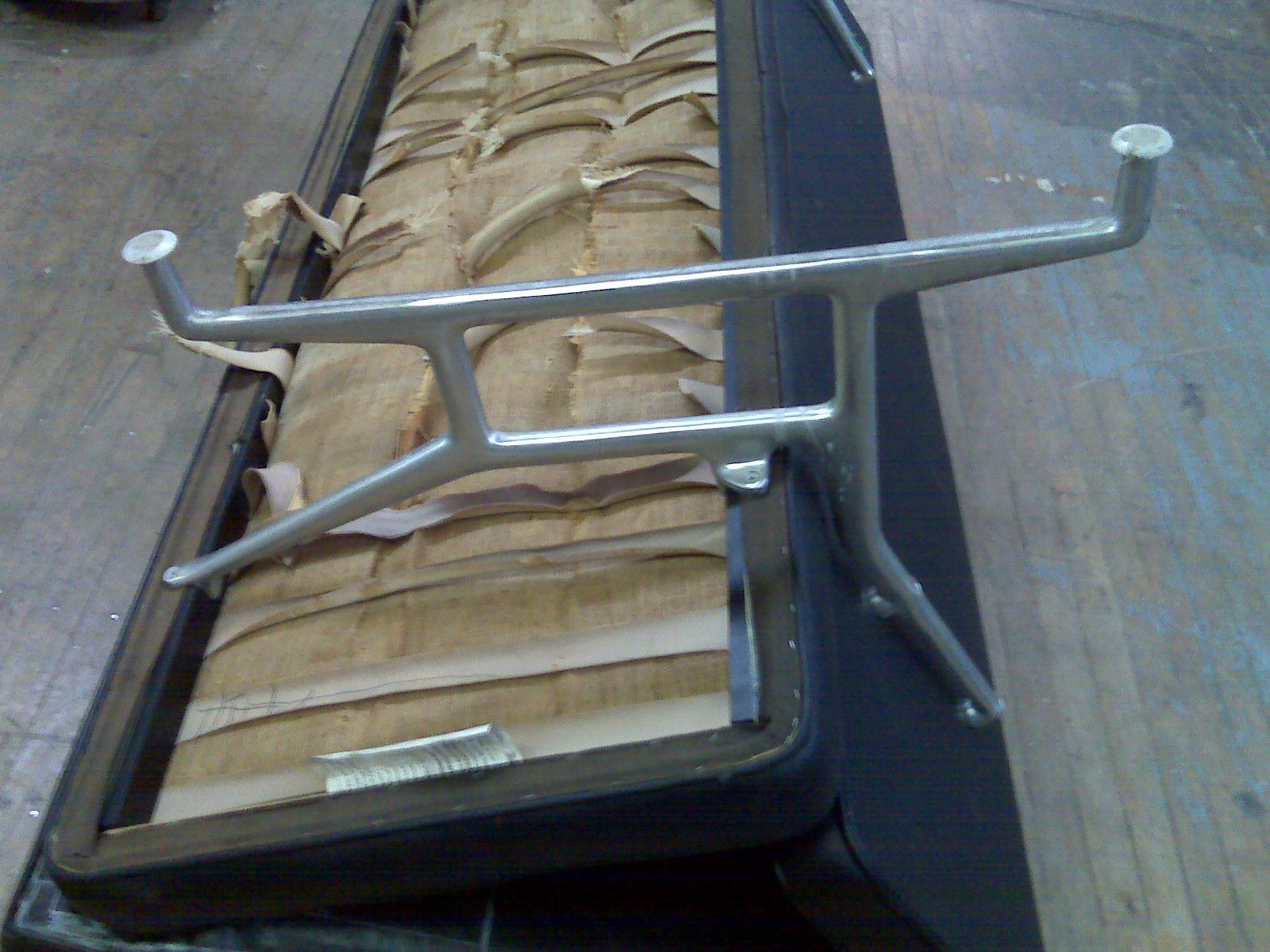 herman miller eames chair repair wheelchair mobility modern furniture restoration reupholstery for