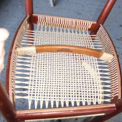 How To Recane A Chair Fabric Covers For Dining Room Chairs Uk Caning Rush Splint Wicker Seagrass Rope Weaving