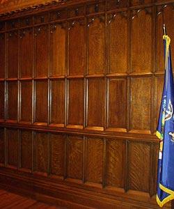Restoration  Preservation Woodwork for Milbank Chapel NYC