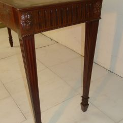 Eames Sofa Reproduction Wilson Chippendale Style Carved Mahogany Console Table ...