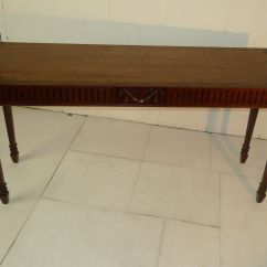 Eames Sofa Reproduction Rv Air Bed Sleeper Chippendale Style Carved Mahogany Console Table ...