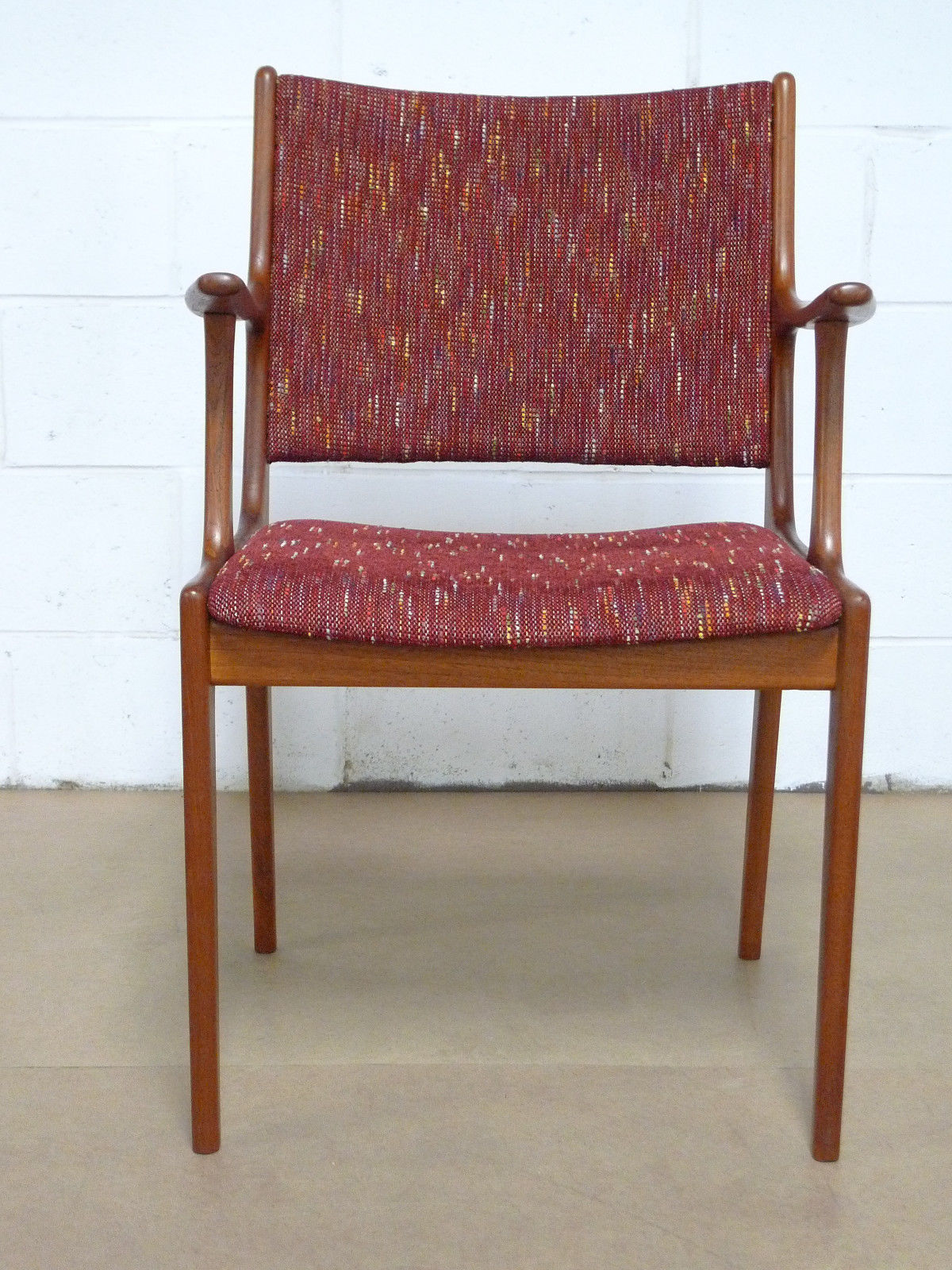 Danish Teak Mid Century Modern Arm Chair Modern