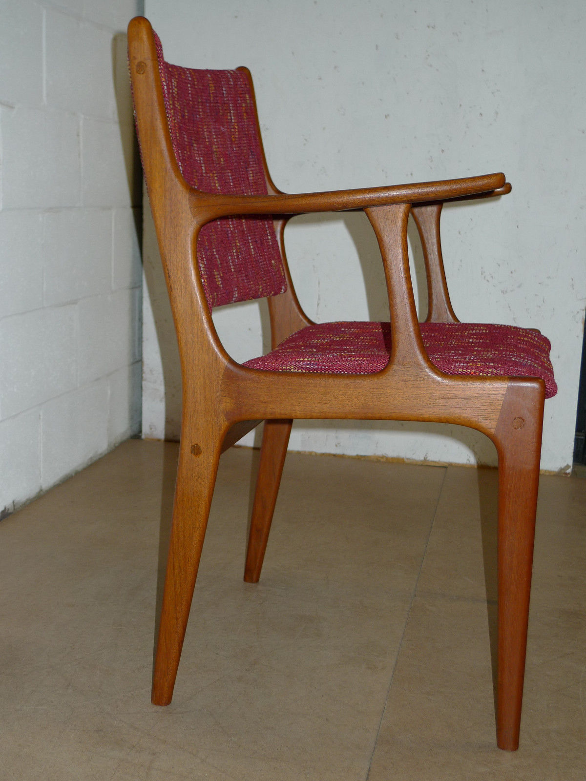 Mid Century Danish Chair Danish Teak Mid Century Modern Arm Chair Modern
