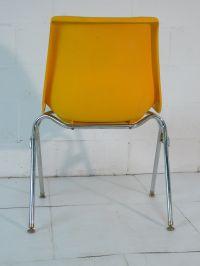 Yellow Plastic Mid Century Modern Eames Era 60's Chair ...