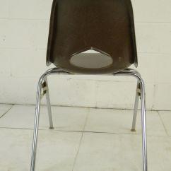 Breuer Chairs For Sale Gravity Chair Accessories Brown Mid Century Modern Eames Era Krueger Fiberglass ...