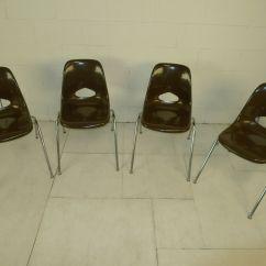 Breuer Chairs For Sale Revolving Chair Manufacturers In Chennai Brown Mid Century Modern Eames Era Krueger Fiberglass ...