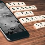 """""""Stay hungry, stay foolish"""" Steve Jobs. Discurso en Stanford, 2005"""