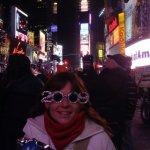 Nueva York, año nuevo en Times Square