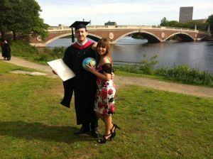 Harvard, Graduación de Miguel