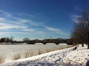 Boston, Río Charles congelado